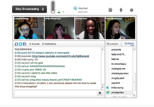 Tinychat at 3am :)