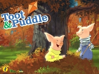 Toot & Puddle in Autumn