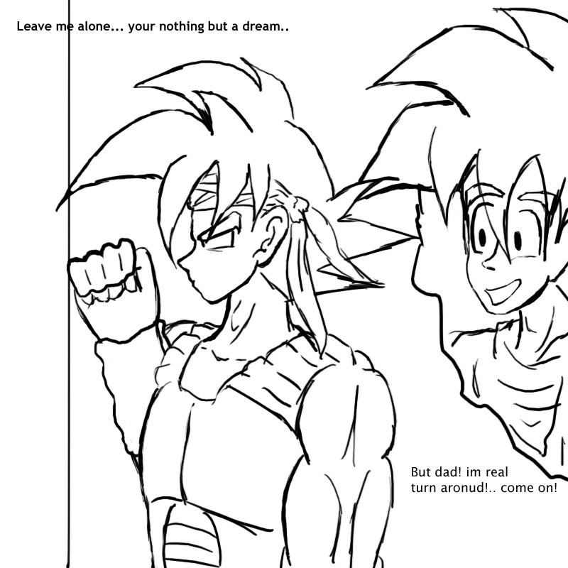 why bardock just had to die bardock fan art 16827736 fanpop why just has to be the most often used word after no 800x800