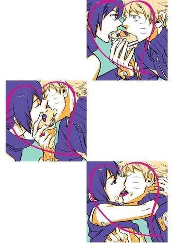 Yaoi wallpaper containing anime called Yaoi