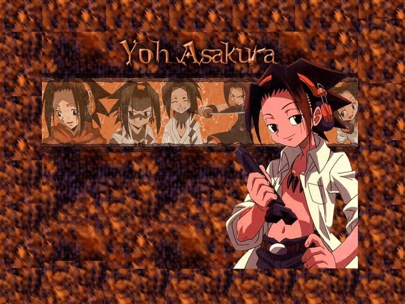 shaman king wallpapers. Yoh - Shaman King Wallpaper
