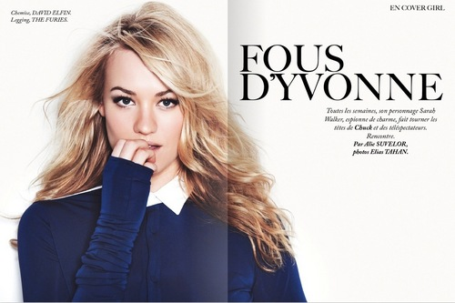 Yvonne Strahovski in the November 2010 Issue of Dirrty Glam Magazine