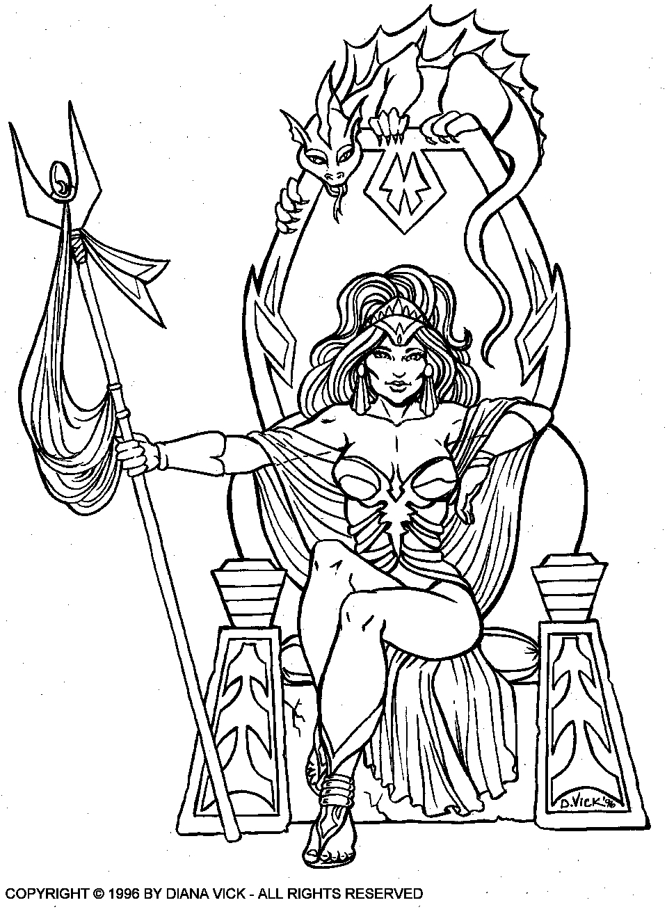 medieval dragon coloring pages - pin medieval themed coloring pages kings queens princesses
