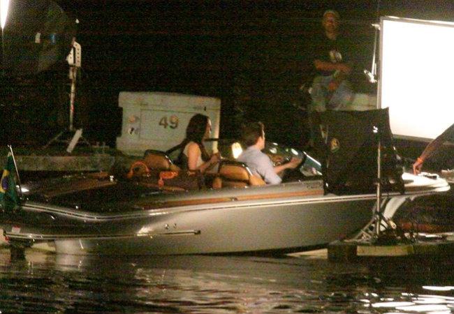 filming Breaking Dawn at 마리나, 선착장 da Gloria