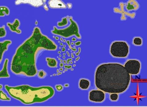 horse isle map