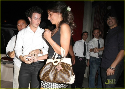 kevin Jonas And Danielle Deleasa Engagement Party