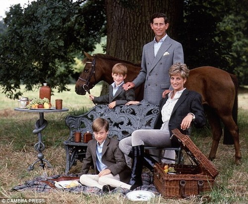 princess-Diana - prince-william Photo