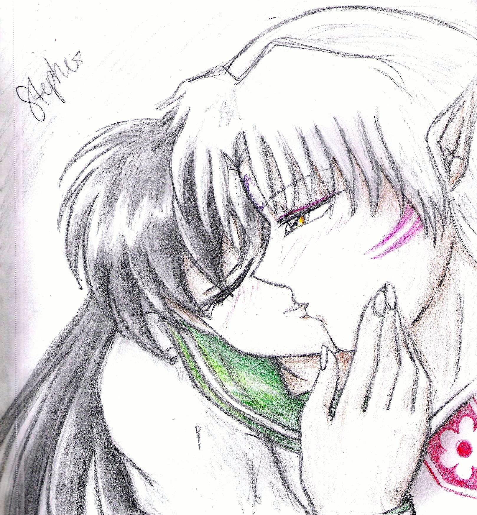 Sesshomaru and Kagome Lemon Fic http://ajilbab.com/kagome/kagome-and-sesshomaru-doujinshi.htm