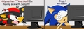 shadow & sonic in the PC