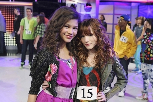 Zendaya Coleman wallpaper possibly containing a top, a hip boot, and a portrait titled shake it up!
