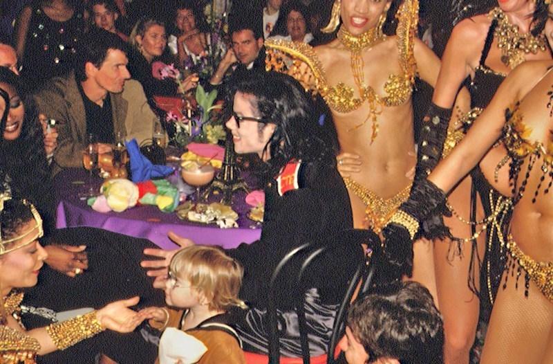 'My cena with MJ'
