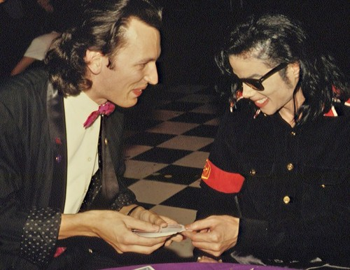 'My dîner with MJ'