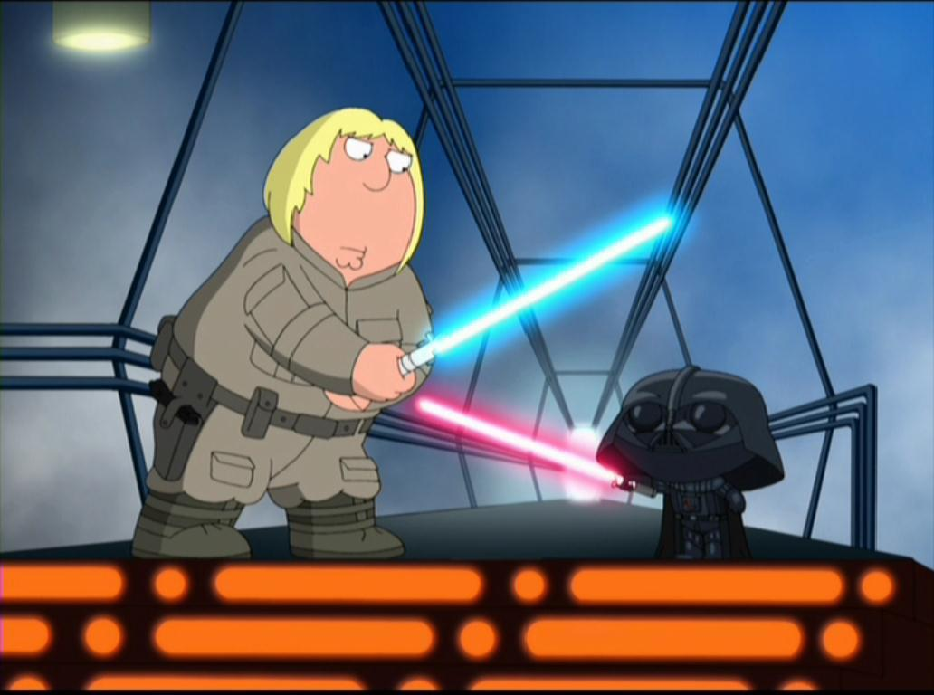 Family guy something something something dark side