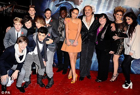 1 Direction At Premiere Of Harry Potter Deathly Hallows Part 1 :) x