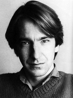 alan rickman fondo de pantalla titled ALan very young ;)