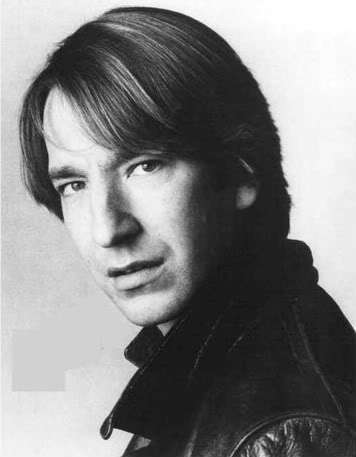 Alan Rickman karatasi la kupamba ukuta probably with a portrait entitled ALan very young ;)