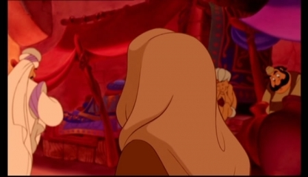 Aladdin-Jasmine Runs Away - princess-jasmine Screencap