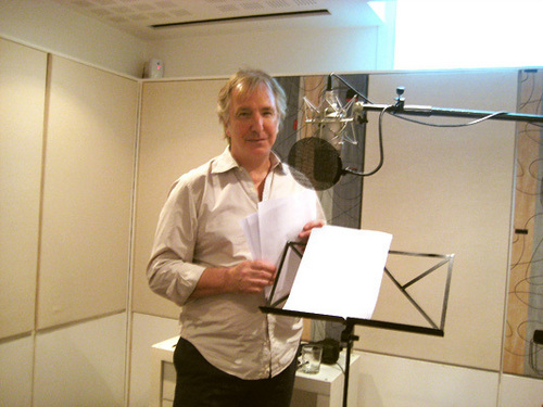 Alan Rickman recording - The song of Lunch