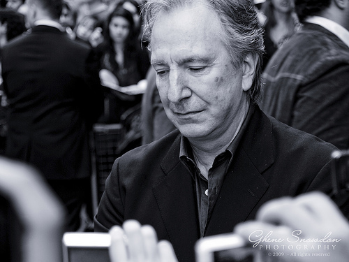Alan at premiere of HBP