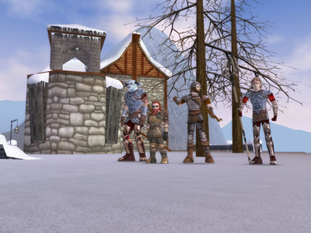 Alsius' Warriors and Archers in Montsognir