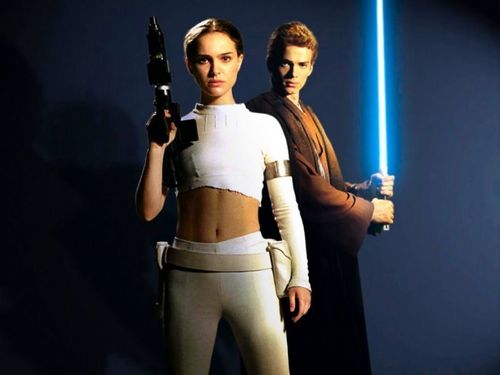 Anakin and Padme 壁纸 titled Anakin and Padme