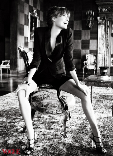 Angelina Jolie in the December 2010 Issue of Vogue