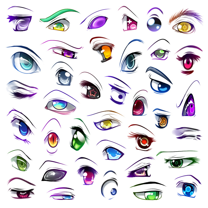 Anime Eyes Anime Fan Art  Fanpop
