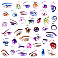 Anime eyes - anime fan art