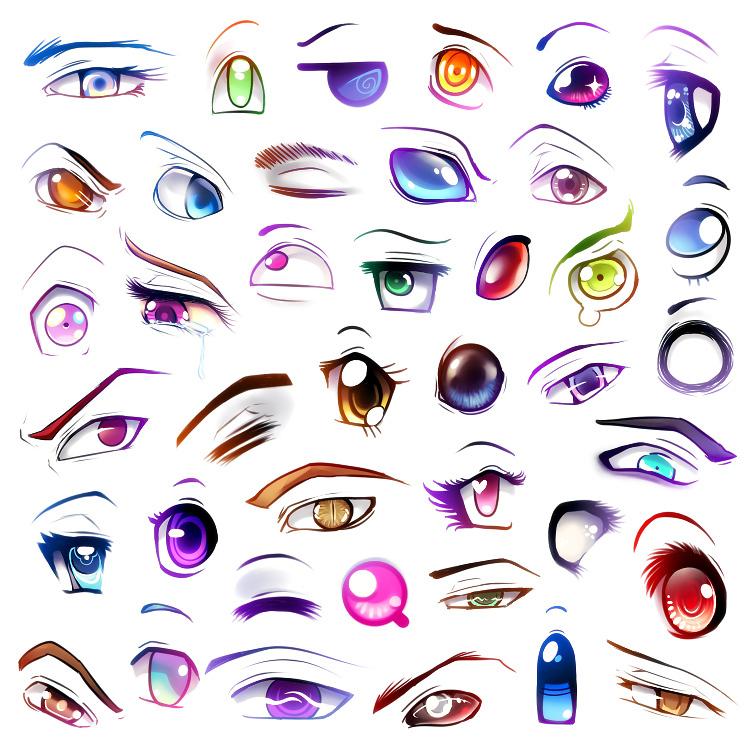 ऐनीमे eyes
