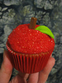 táo, apple cupcake