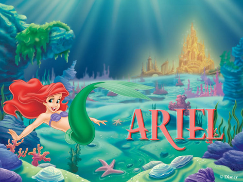 Ariel wallpaper containing anime entitled Ariel
