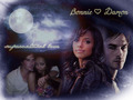 Bamon &lt;3 - damon-and-bonnie wallpaper