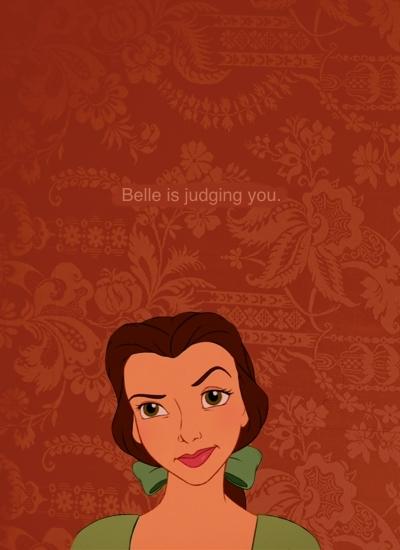 Belle judges