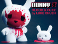 Blood & Fuzz Dunny  - vinyl-toys photo
