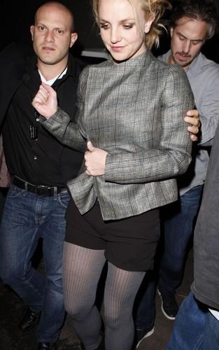 Britney out @ Troubadour