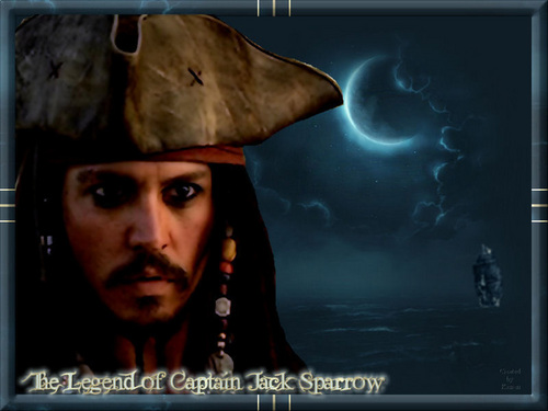 Captain Jack Sparrow - captain-jack-sparrow Wallpaper