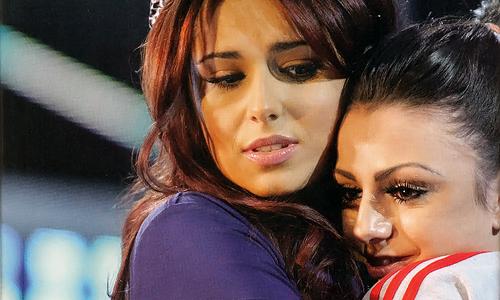 Cheryl with Cher Lloyd