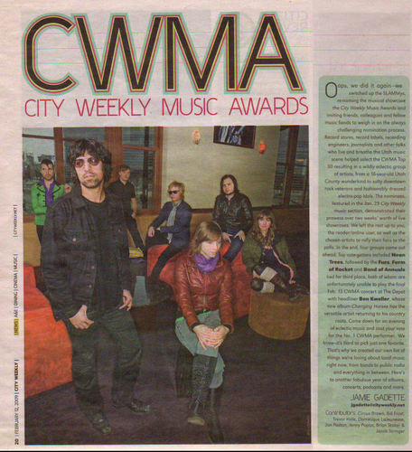 City Weekly Mosic Awards