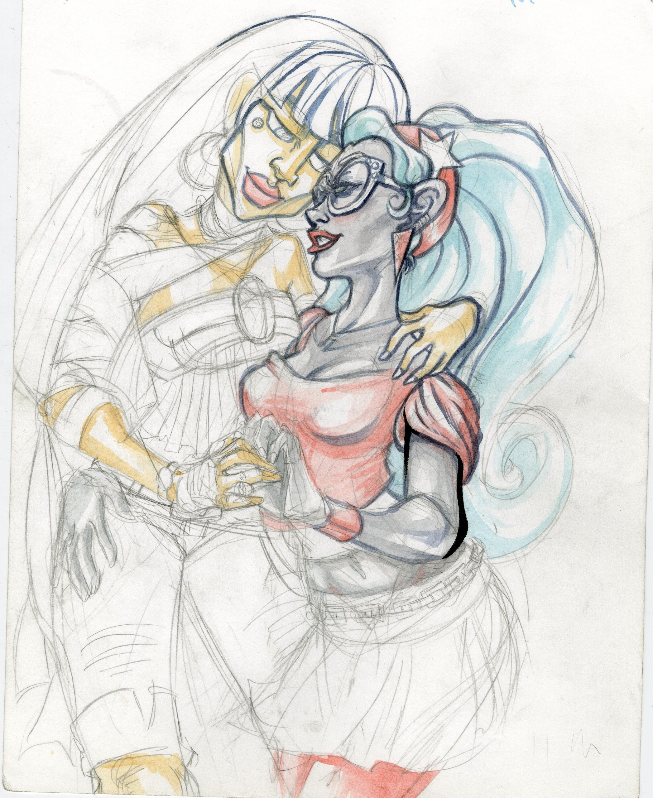 Cleo and Ghoulia WIP