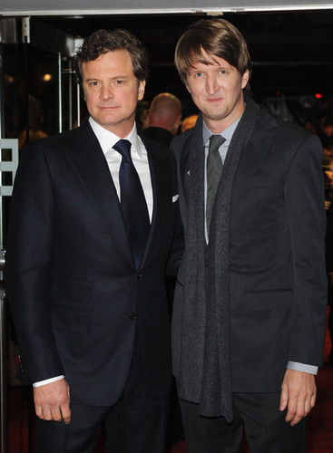 Colin Firth at The King's Speech Gala Screening at 54th BFI Londres Film Festival