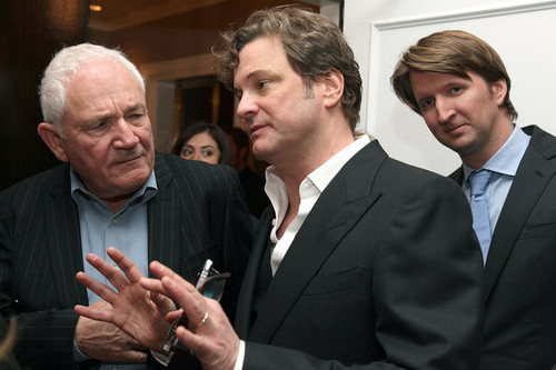 Colin Firth at The King's Speech Premiere Luncheon