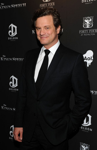 Colin Firth at The King's Speech Premiere