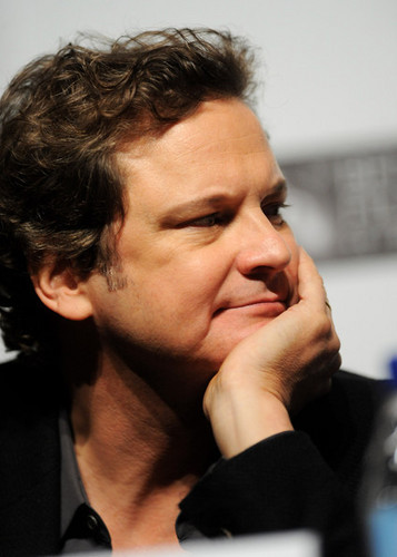 Colin Firth at The King's Speech Press Conference at 54th BFI Londres Film Festival