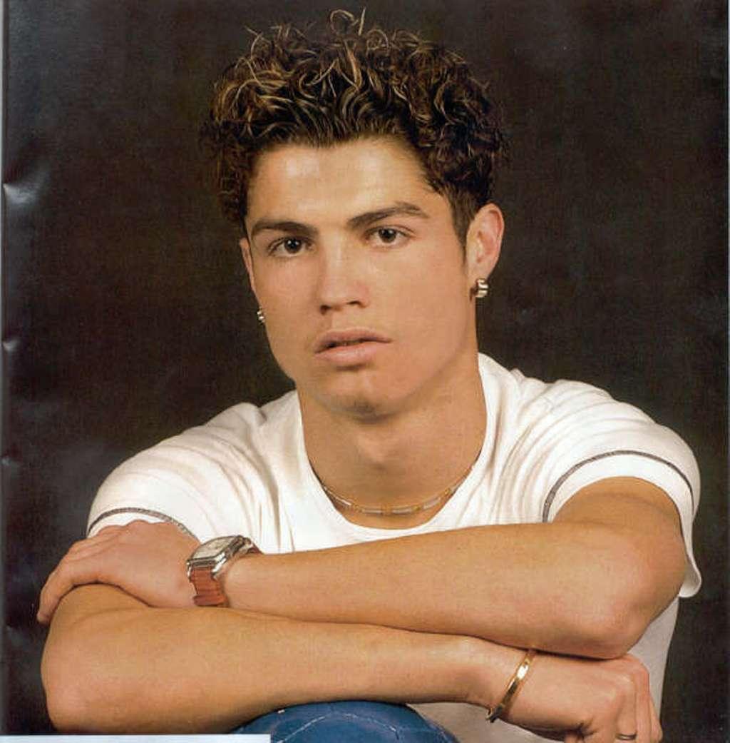 Cristiano Ronaldo long hair