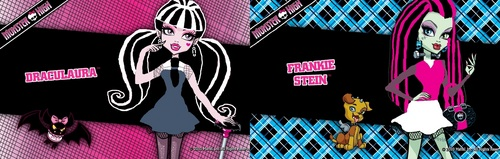 Draculara & Frankie color swap