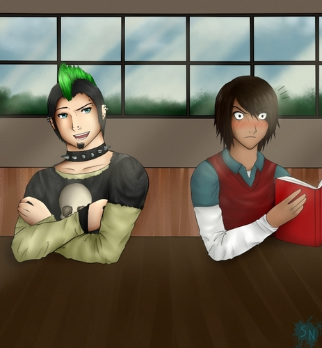 Duncan and Noah