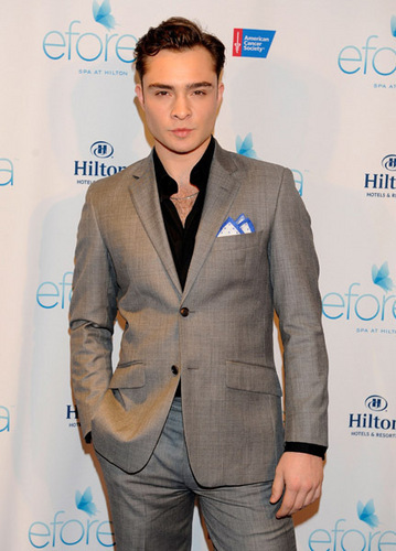 Ed Westwick in The Global Launch Of Eforea: Spa