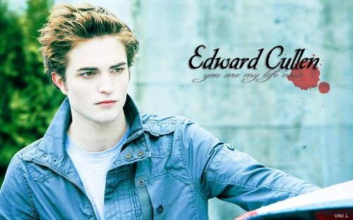 Edward Cullen wallpaper possibly containing a portrait entitled Edward Cullen