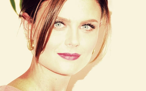 Emily Deschanel Обои containing a portrait titled Emily Обои