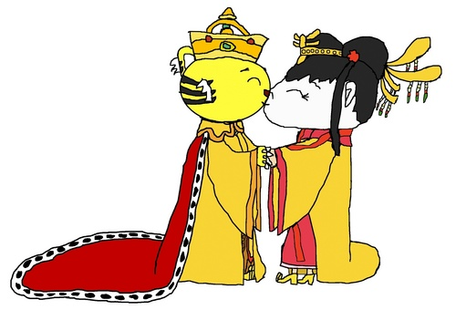 Emperor Rintoo and Empress Kai-Lan - Wedding